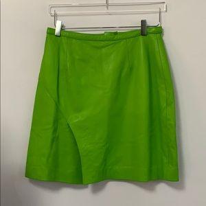 SHANGHAI TANG GREEN SKIRT Size 14